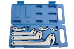 Laser 5170 Hook & Pin Wrench Set 11 piece